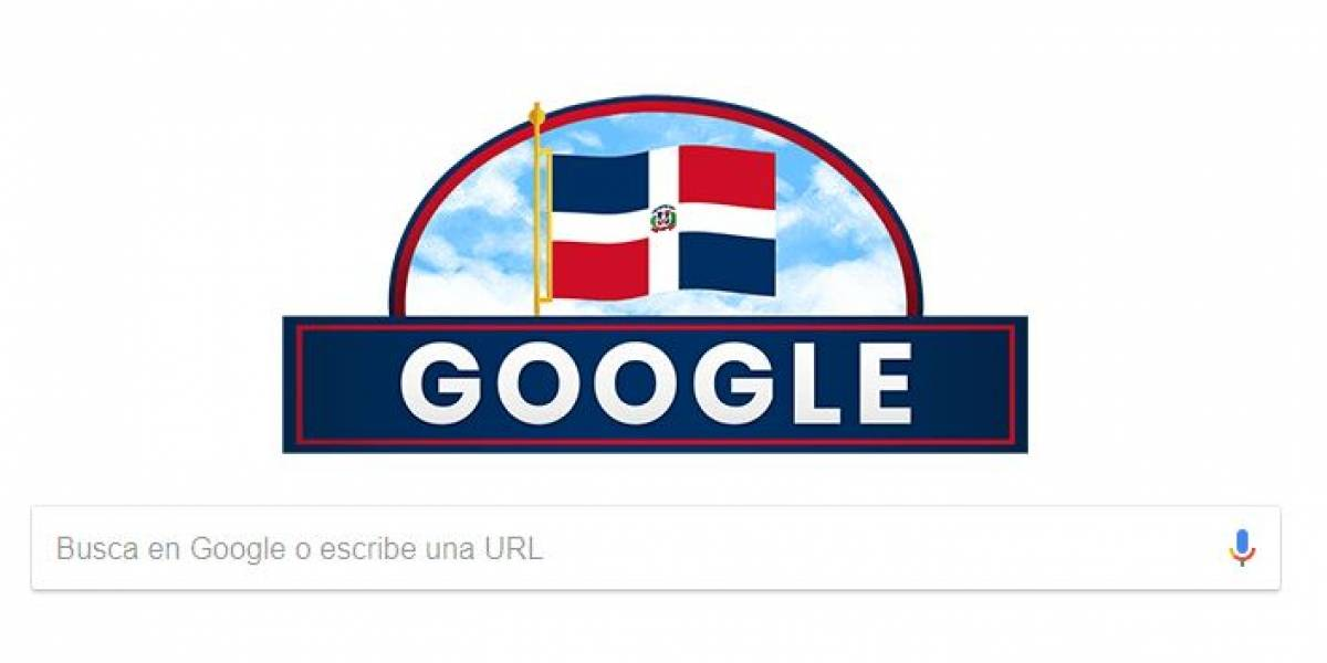 Un doodle en honor a la Independencia Nacional