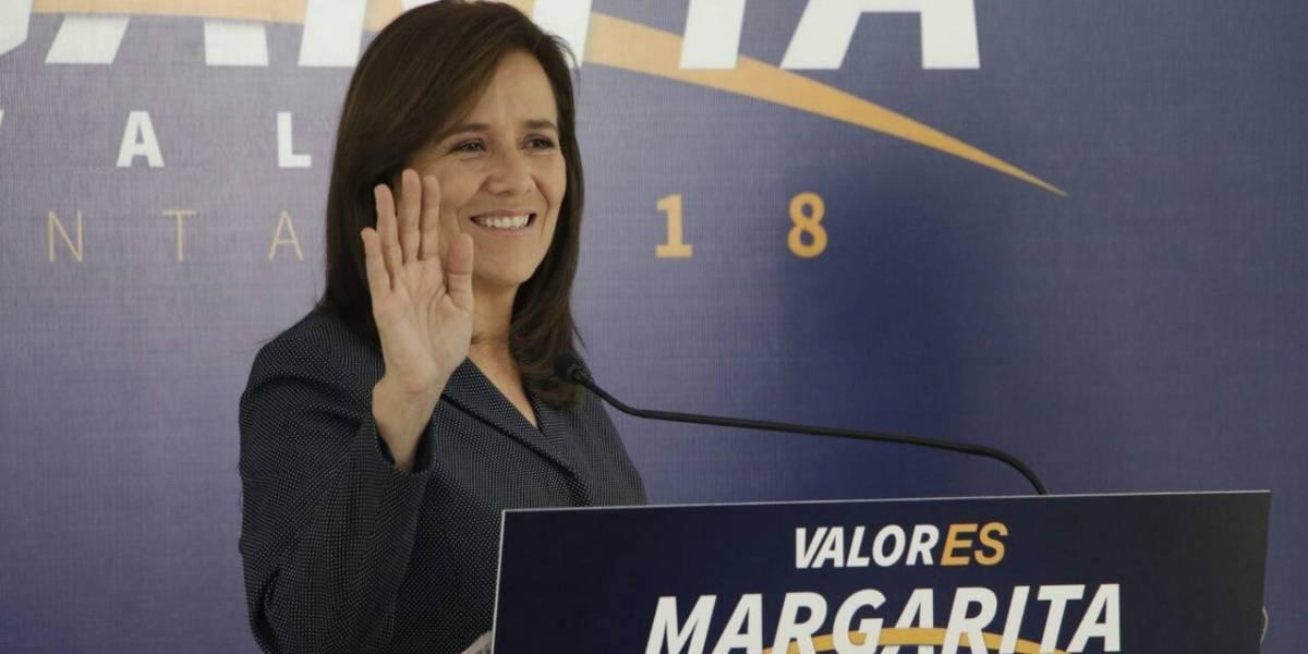 Aun sin ser candidata oficial, Zavala presenta imagen de campaña