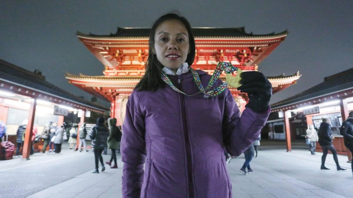Faviola Sarai Pérez llegó a Tokio como recompensa por su esfuerzo y dedicación |ASCIS