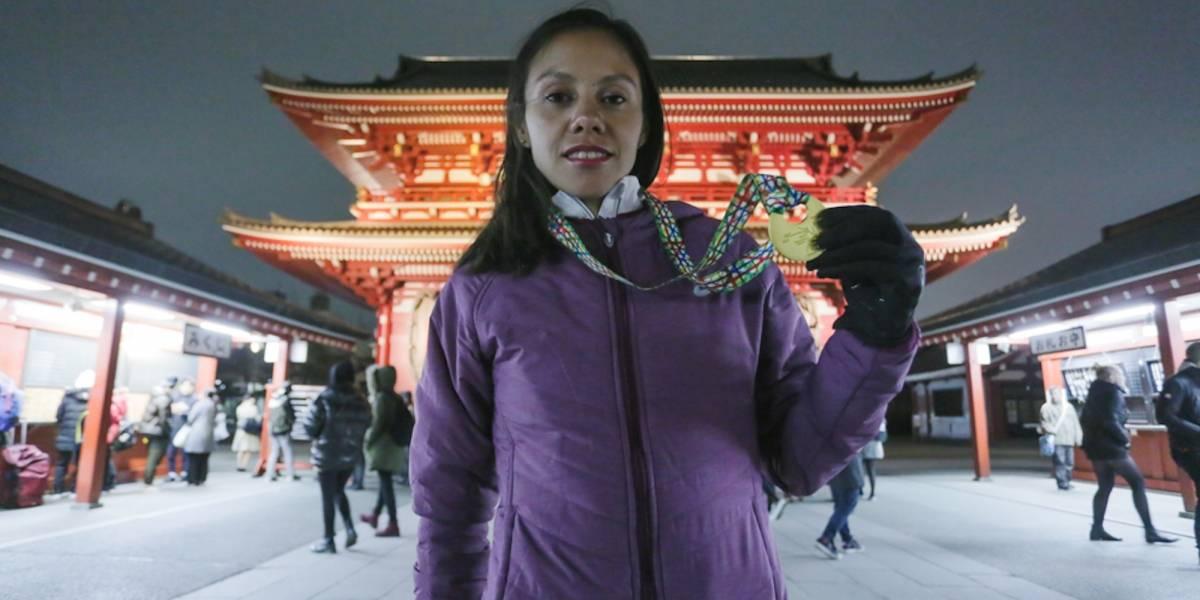 Faviola Pérez representó dignamente a México en Maratón de Tokio