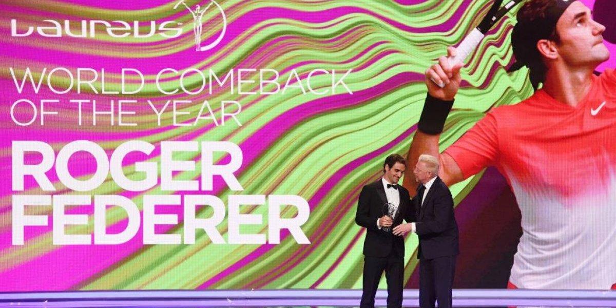 Su Majestad otra vez: Roger Federer fue elegido el mejor deportista del año