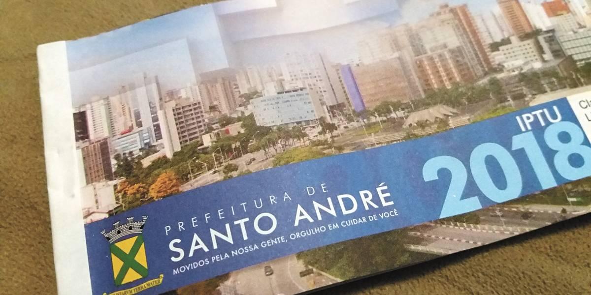 Novo IPTU de Santo André terá vencimento no dia 29