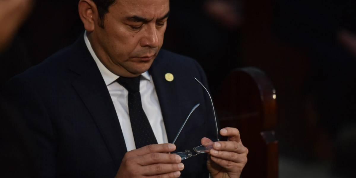 Contraloría General de Cuentas analiza pruebas de descargo de SAAS por gastos de Presidente