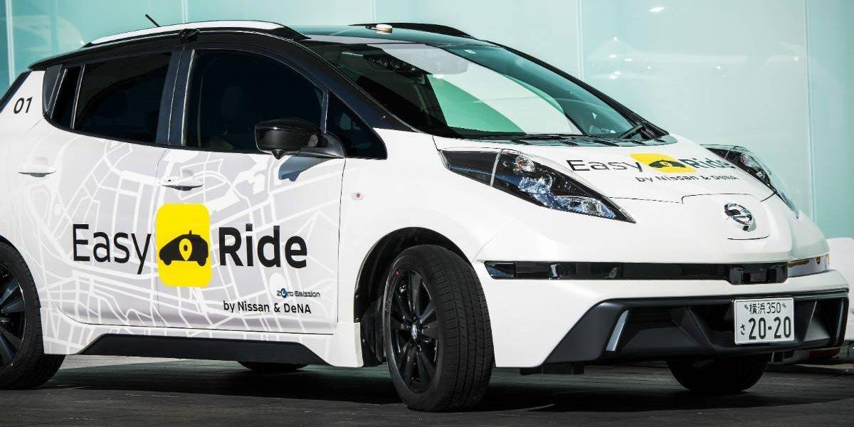 Nissan comienza sus pruebas de taxis robotizados