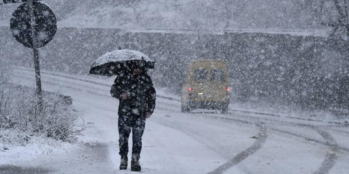 Ola de frío deja más de 20 muertos en Europa