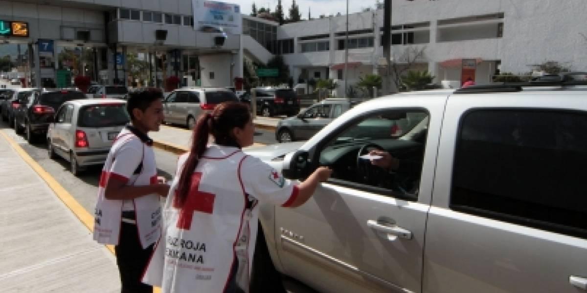 Transporte urbano de Monterrey se une a la colecta anual de Cruz Roja