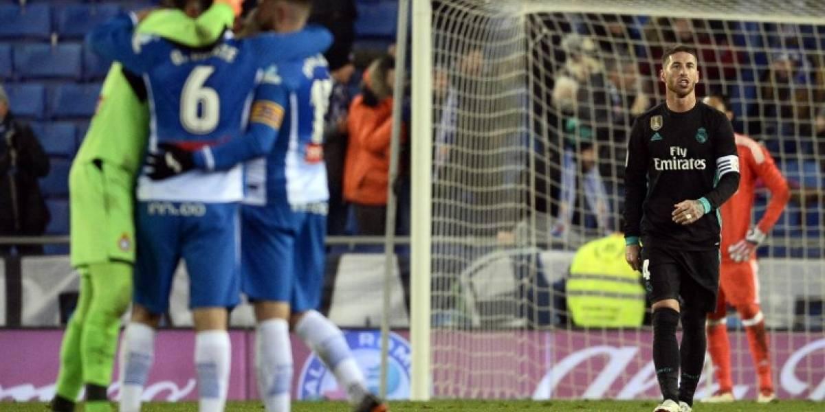 Agónica victoria del Espanyol vuelve a hundir al Madrid en LaLiga
