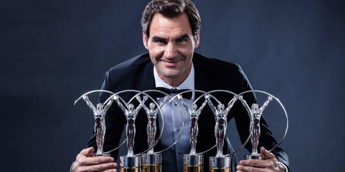Roger Federer es nombrado el mejor deportista del año