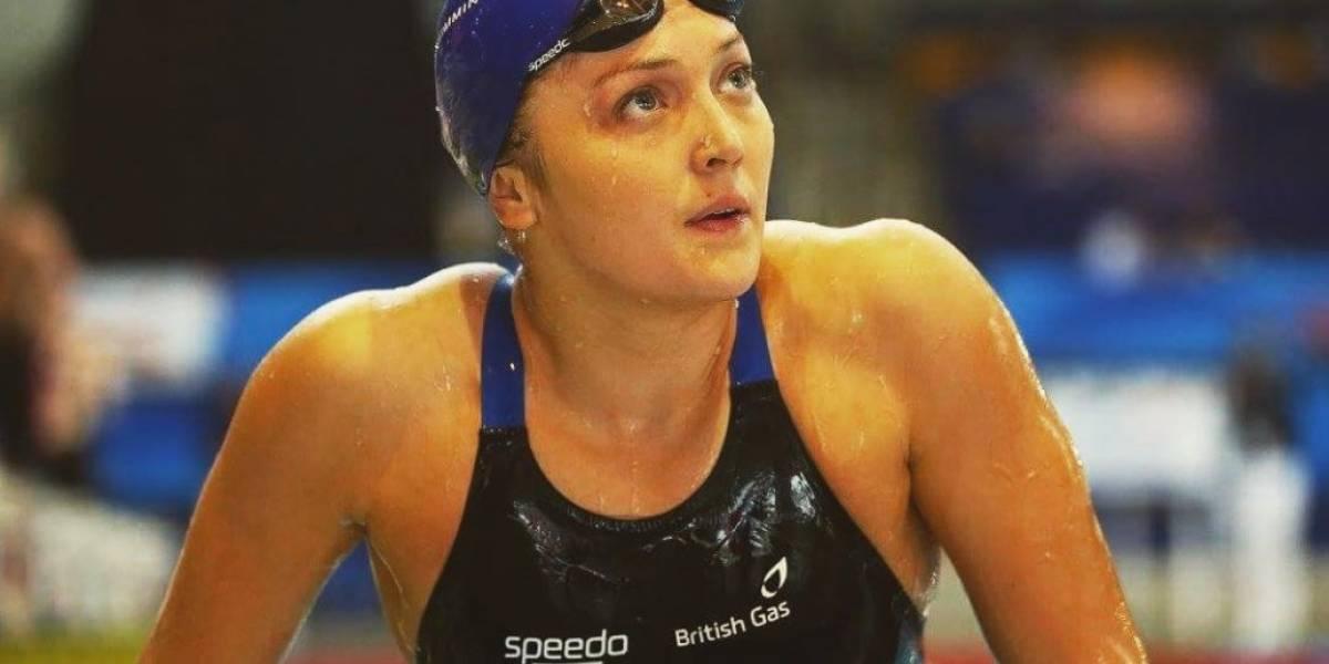 Nadadora paralímpica suplica en las redes la recuperación de su pierna ortopédica