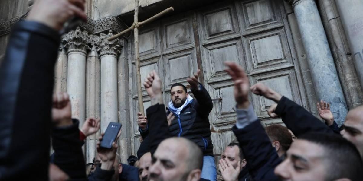 El Santo Sepulcro, cerrado por tercer día consecutivo