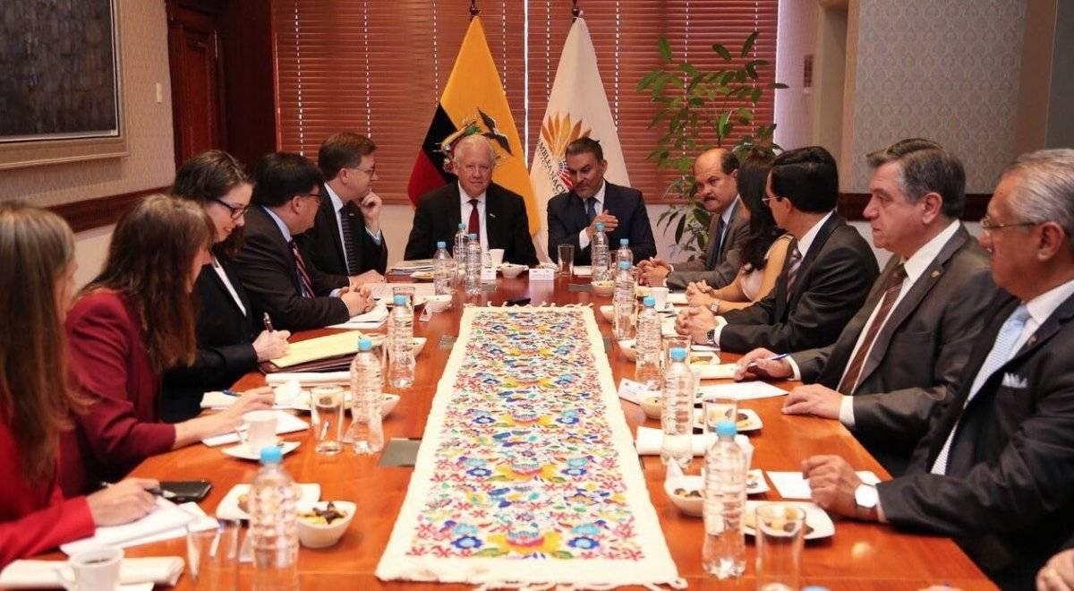José Serrano se reunió con subsecretario de EE.UU. Shannon