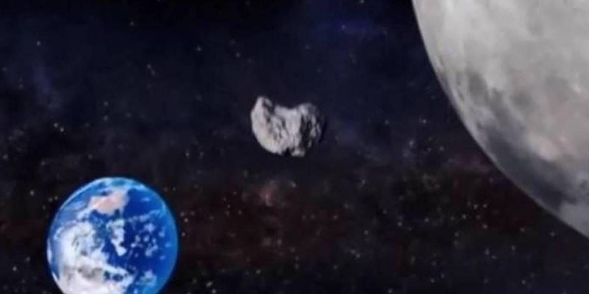 Otro asteroide pasará cerca de la Tierra esta semana