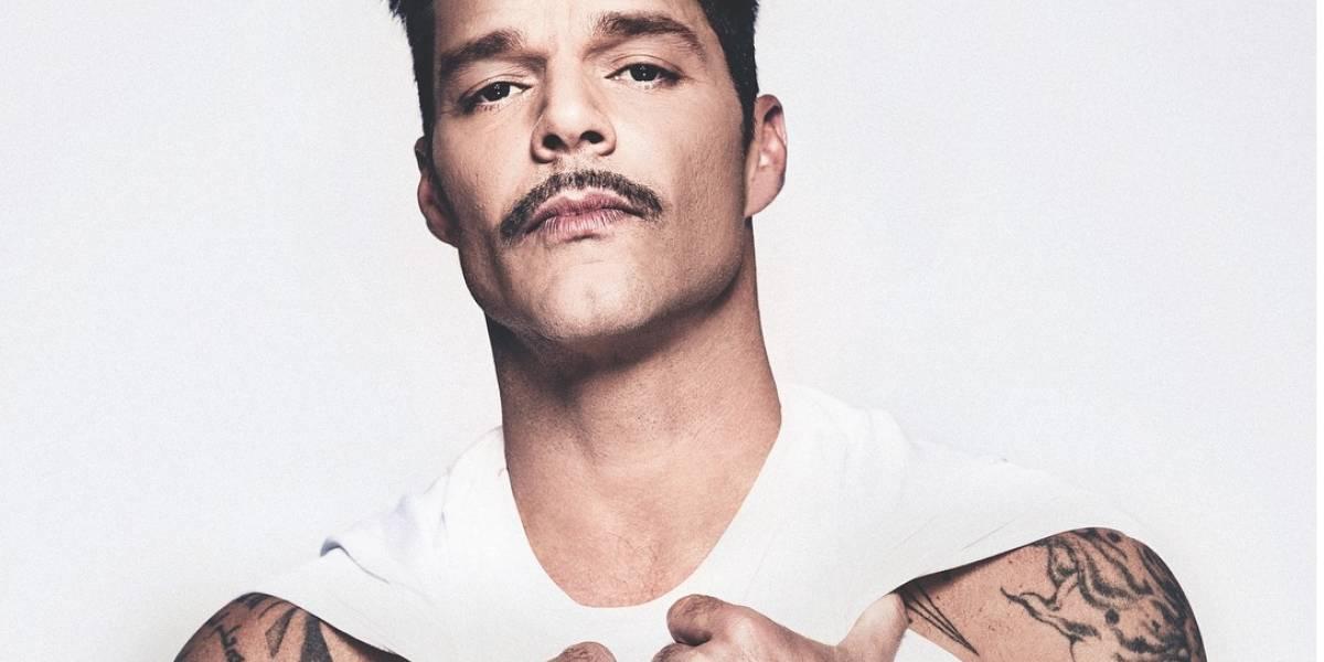 Ricky Martin se suma al llamado de cuidar y amar el cuerpo