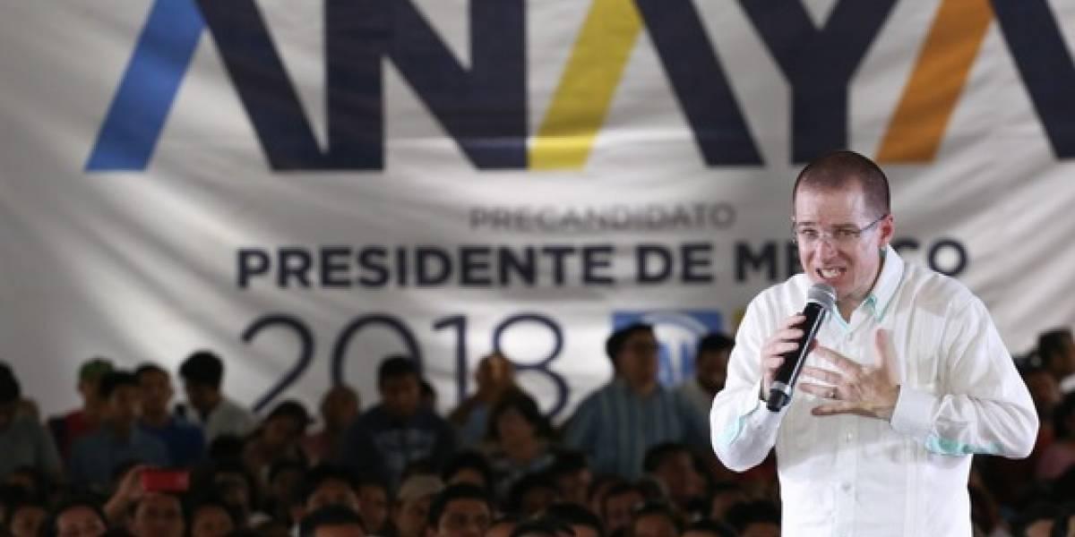 Exigen renuncia de Anaya como candidato a la Presidencia del Frente