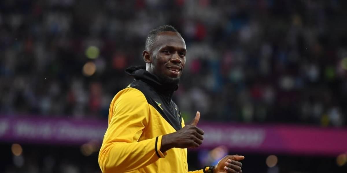 VIDEO. Usain Bolt revela el misterio y anuncia el equipo de fútbol con el que jugará