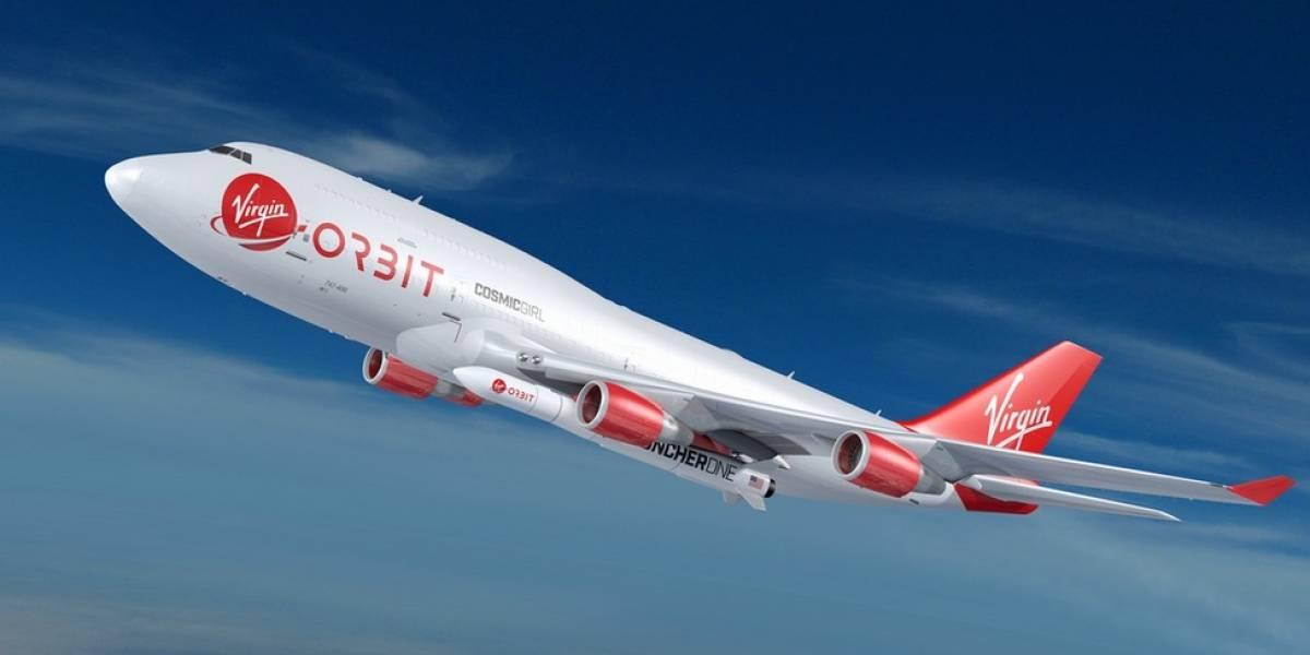 Virgin Orbit logra llegar al espacio