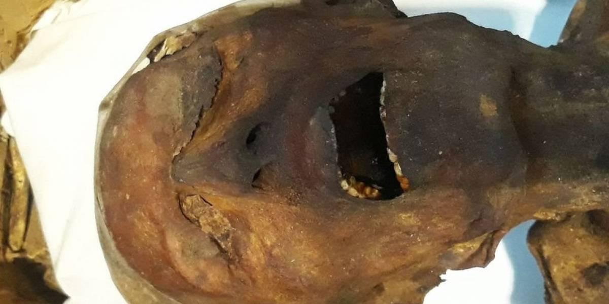 """Arqueólogos dizem ter solucionado mistério sobre """"múmia que grita"""" encontrada há mais de 100 anos"""