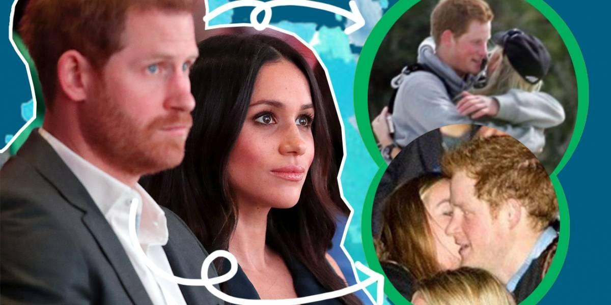 Dos ex novias del príncipe Harry están invitadas a su boda con Meghan Markle