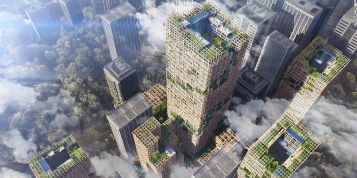 Japón va a construir el rascacielos de madera más grande del mundo