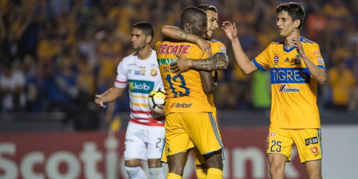 Tigres cumple y avanza a cuartos de la Concachampions