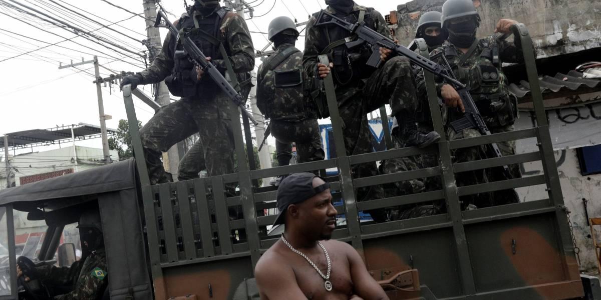 Rio tem primeira morte por militar desde o início da intervenção no Estado