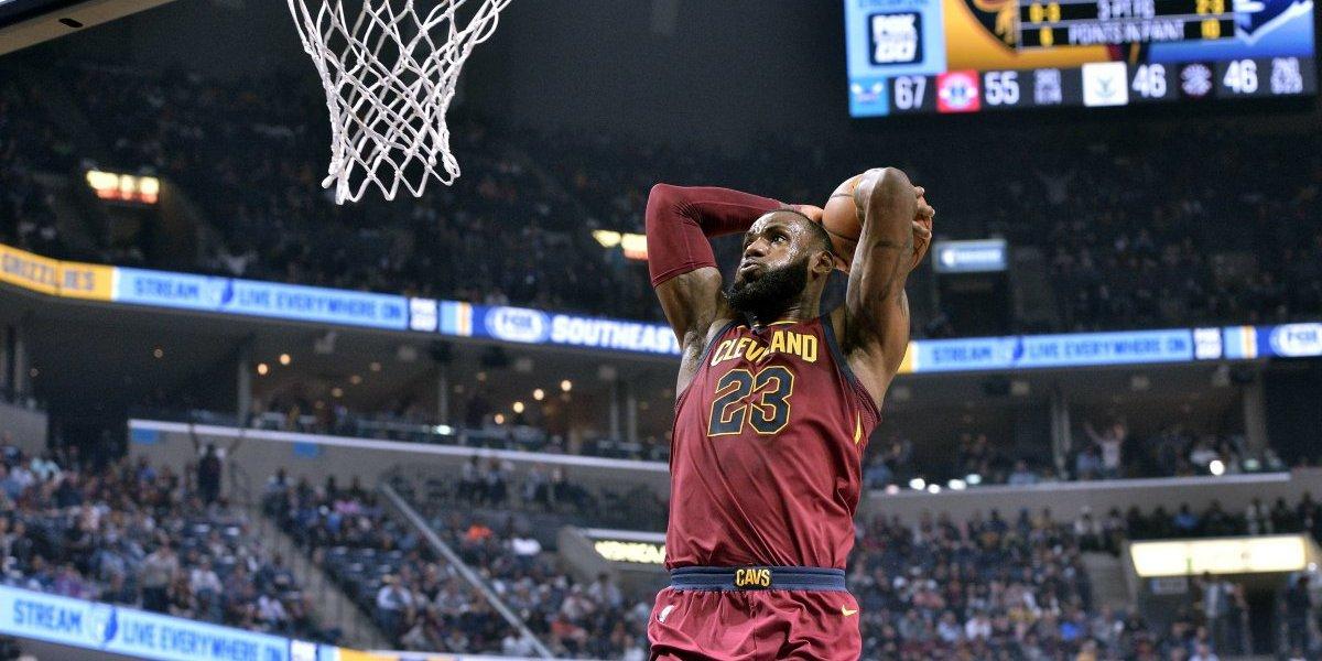 LeBron James escribió una nueva página de la historia grande en la NBA