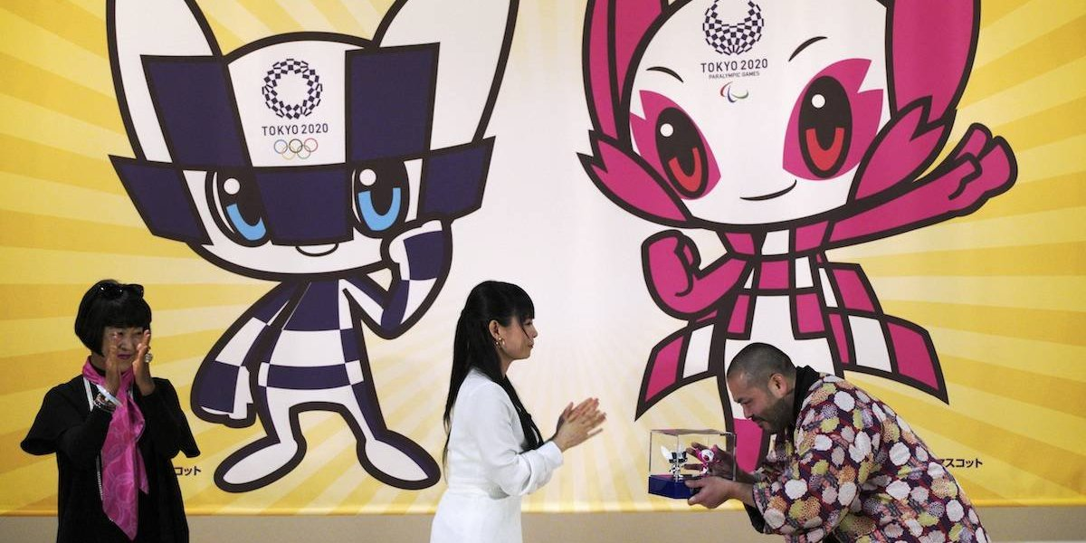 Tokio 2020 presenta a sus futuristas mascotas olímpicas