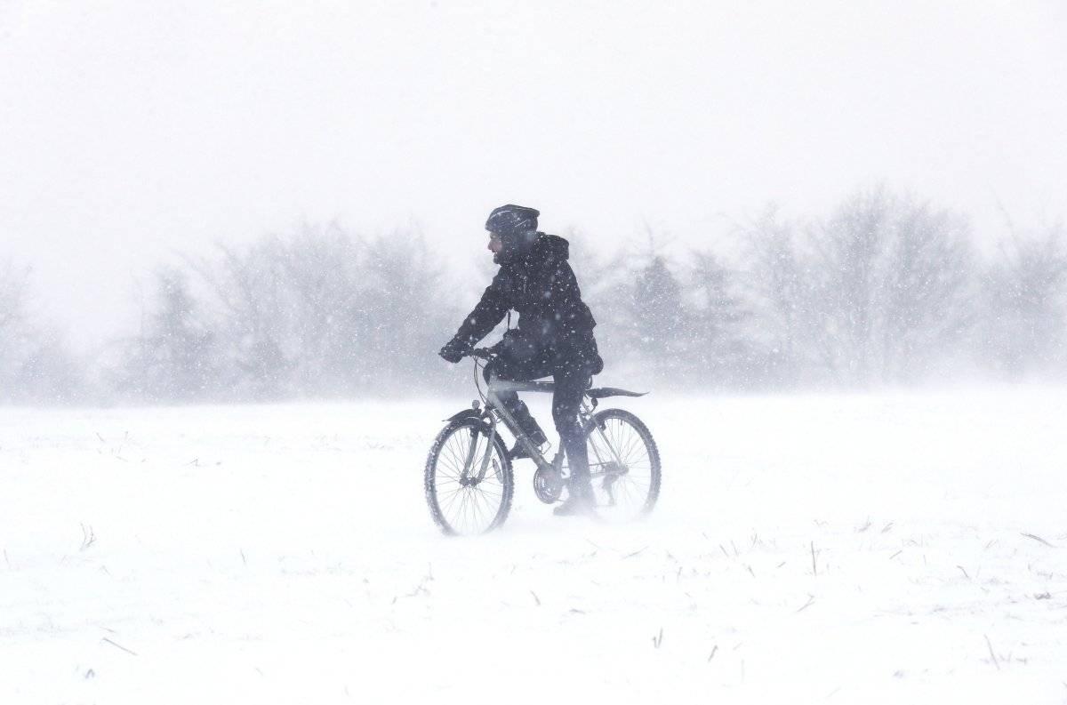 Ola de frío en Europa EFE y AP