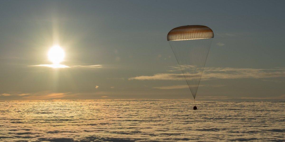 Astronautas de la Estación Espacial Internacional regresan a la Tierra