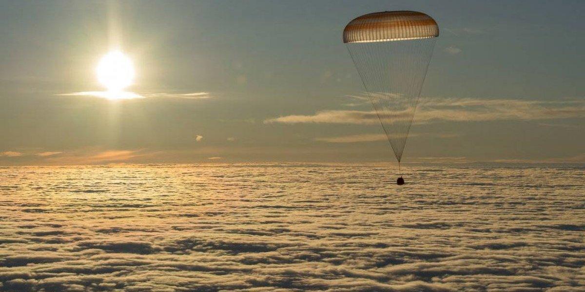 Acabá regresa a la Tierra tras cinco meses en Estación Espacial