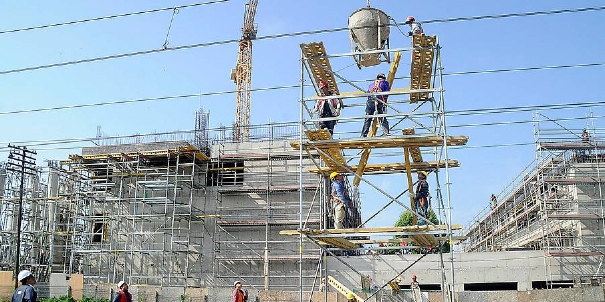 Superficie autorizada para edificación disminuyó 14,7 % en doce meses