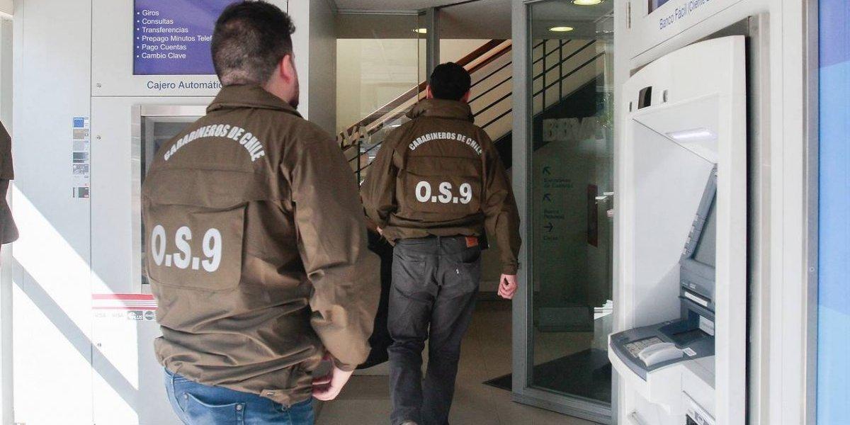 Delincuente muere baleado por guardia tras asalto a banco en Talca