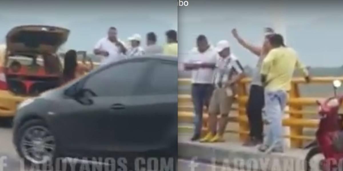 Las fiestas al aire libre de sexo, droga y el alcohol en el viaducto del Quimbo, en Huila
