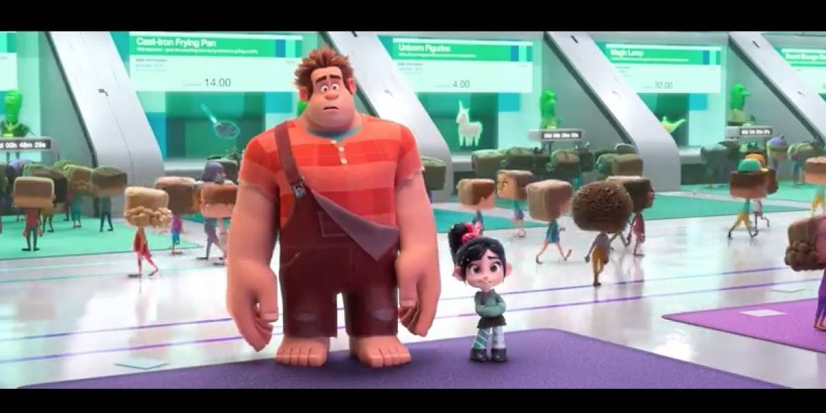 Revelado el primer tráiler para 'Wreck-it Ralph: Ralph Breaks the Internet'