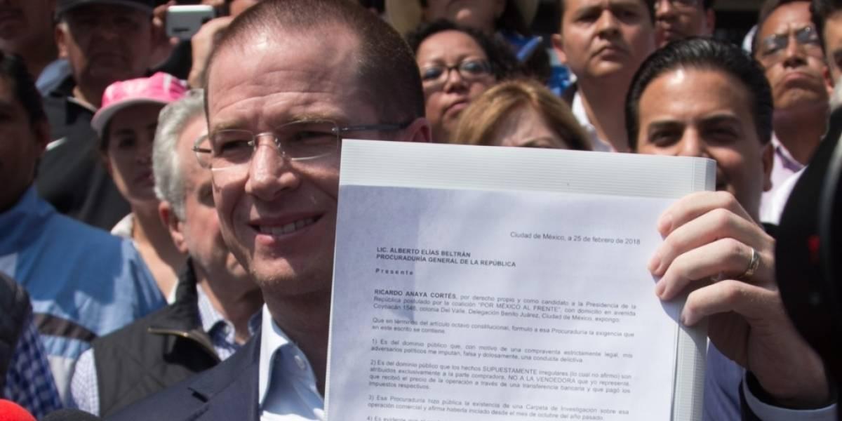 INE concluye que Anaya no modificó estatutos del PAN para ser candidato