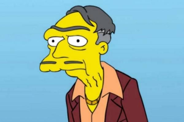 Morty, papá de Moe, nuevo personaje de Los Simpsons