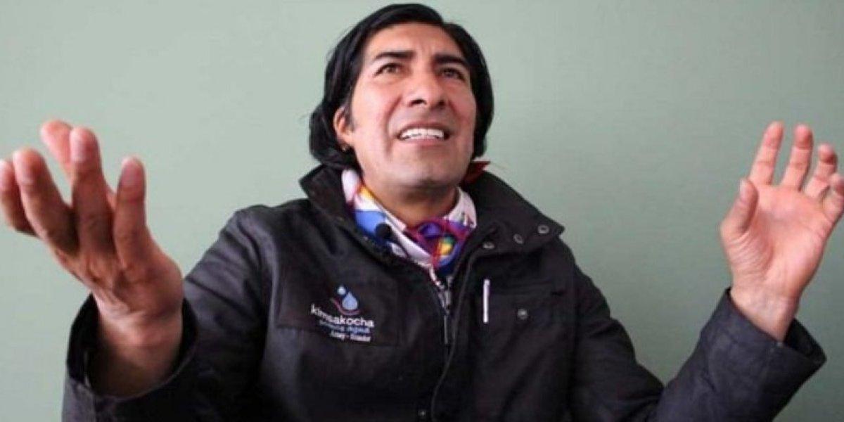 Ecuarunari  señala movilizaciones si no existe la renuncia  de José Serrano y Carlos Baca