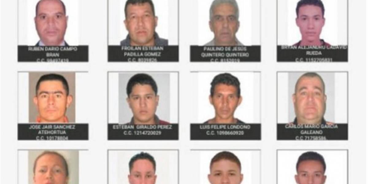 Nuevo error en el cártel de los más buscados en Medellín