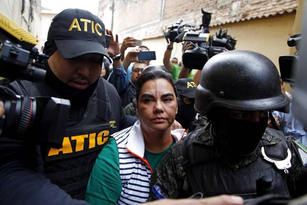 Rosa Elena Bonilla detenida