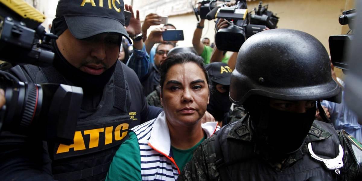 Capturan a ex primera dama de Honduras, señaladadecorrupción
