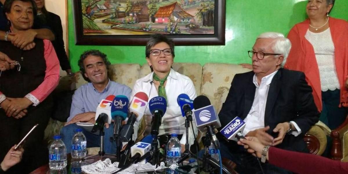Claudia López será la formula vicepresidencial de Sergio Fajardo
