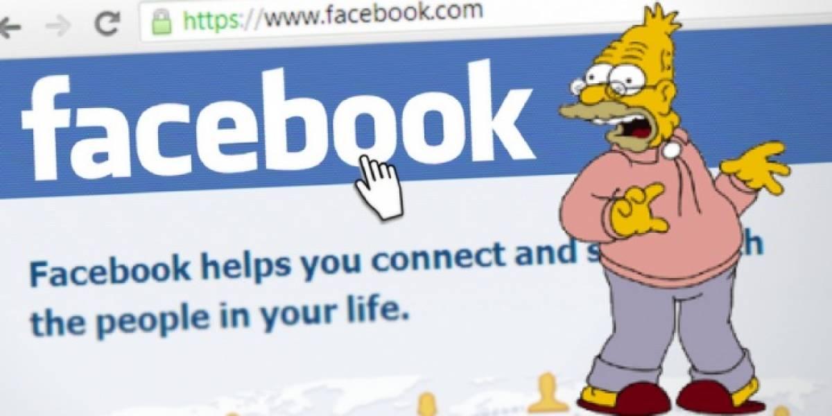 ¿Has sentido que Facebook ya es para gente vieja? Un estudio te respalda