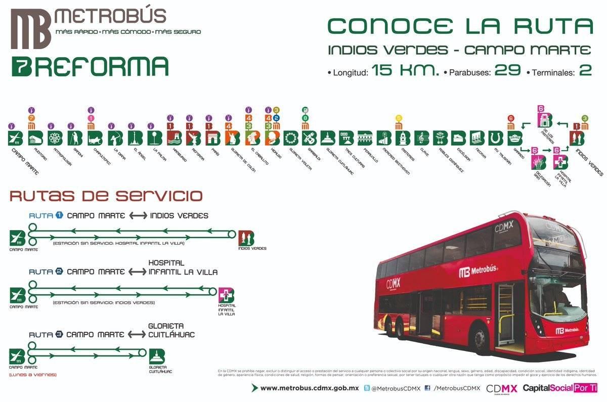 Pese a polémica, arranca Línea 7 del Metrobús