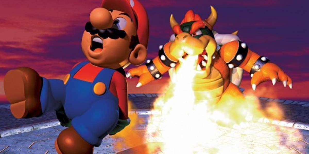 Esta IA está aprendiendo a jugar Super Mario 64
