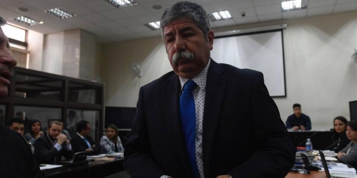 Caso Transurbano: Exministro Mario Aldana se presenta a Tribunales