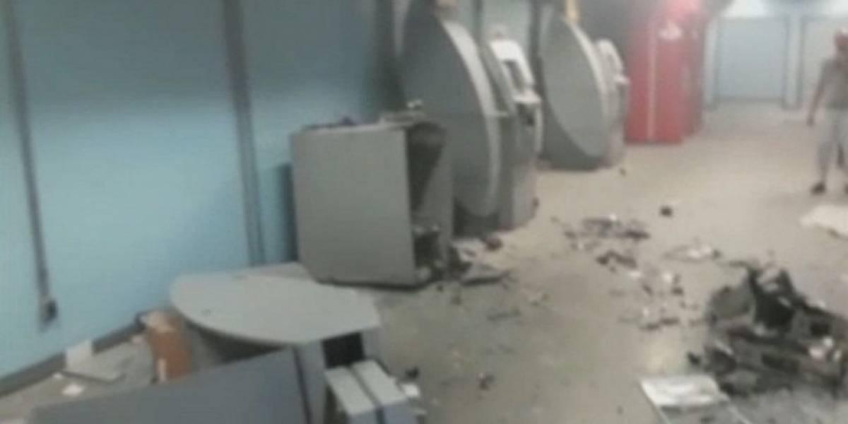 Criminosos estouram caixa eletrônico dentro do Hospital das Clínicas