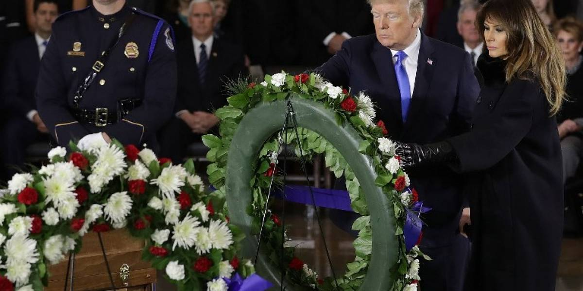 FOTOS. Estados Unidos rinde homenaje al fallecido pastor Billy Graham