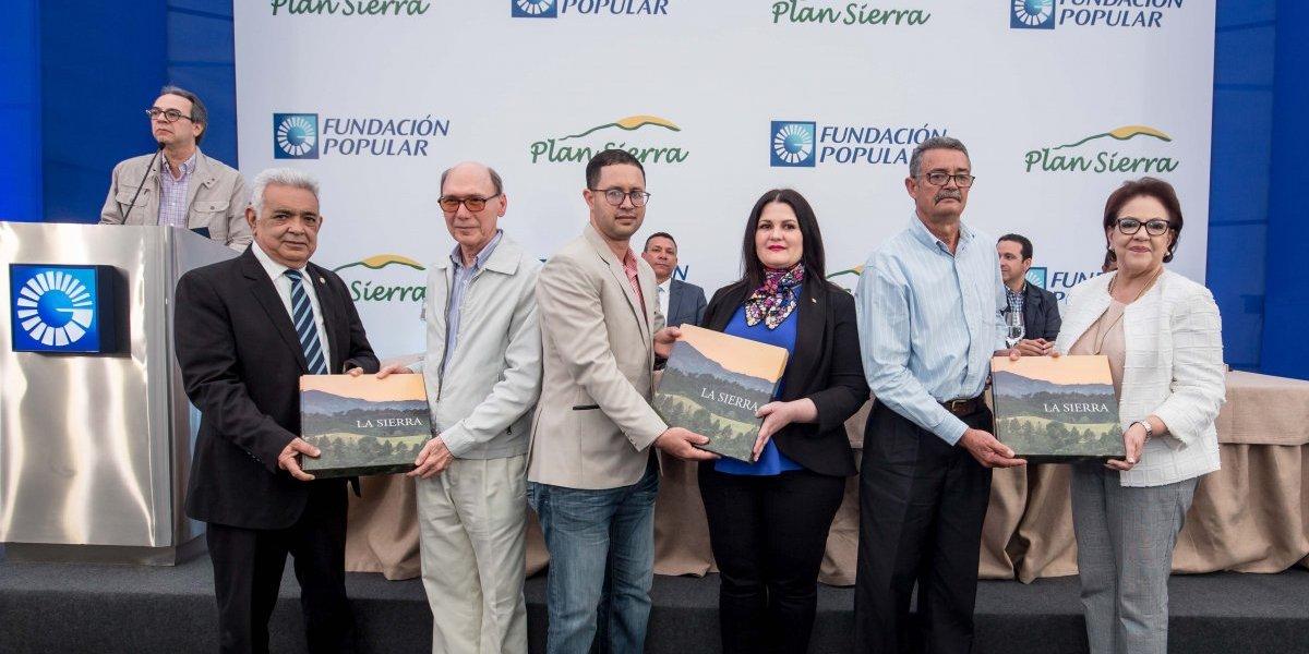 """#TeVimosEn: Fundación Popular muestra libro """"La Sierra"""" a la comunidad serrana"""