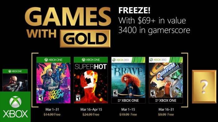Estos Son Los Juegos Gratis De Xbox Para Marzo