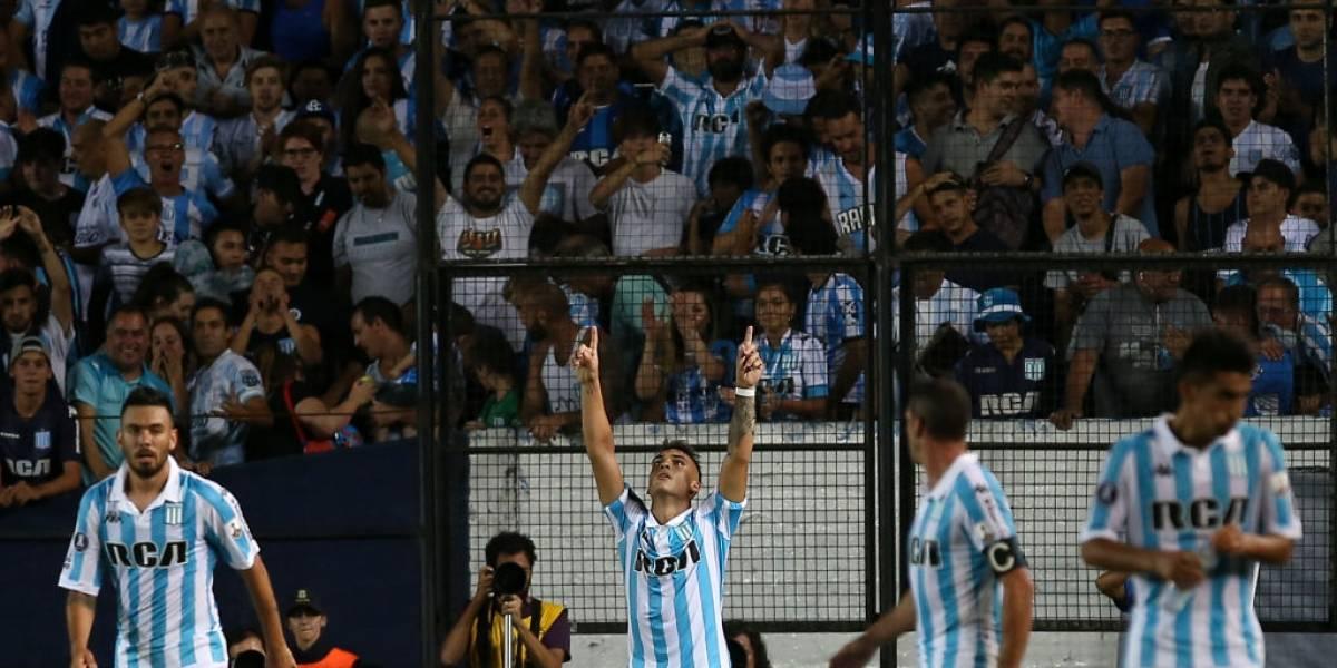 Lautaro Martínez asusta a la U en la Libertadores con descomunal actuación ante Cruzeiro